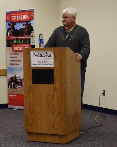 State Senator Speaks to his Hometown