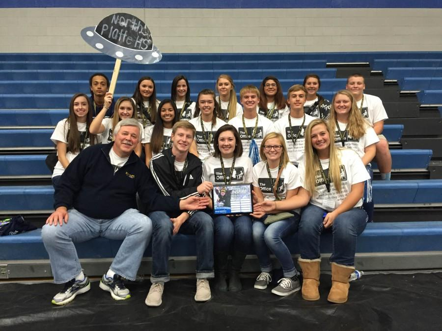 Student Council receives the Top Fundraiser award.