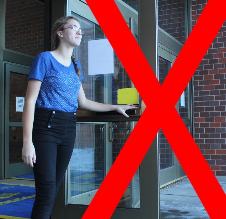 closed campus college