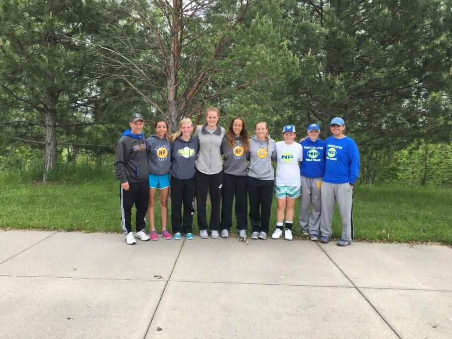 North Platte Lady's tennis qualifiers at Koch Tennis Center on Thursday, May 19.