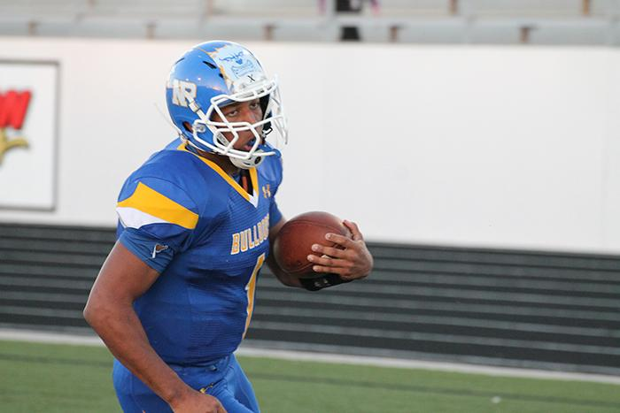 Senior Trevon Weaver committed to play football at the University of Wyoming.