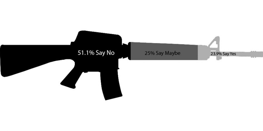 The Bulldogger surveyed NPHS teachers and asked them if they would be comfortable having a weapon at school
