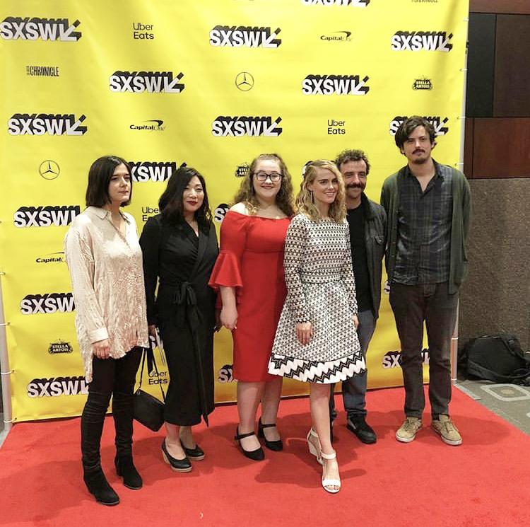 The Frances Ferguson cast at the SXSW Film Festival. Photo courtesy of Megan Jerabek.