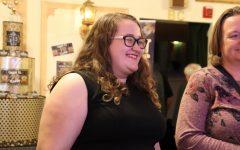 NPHS senior Megan Jarabek, supporting actor in the locally-filmed