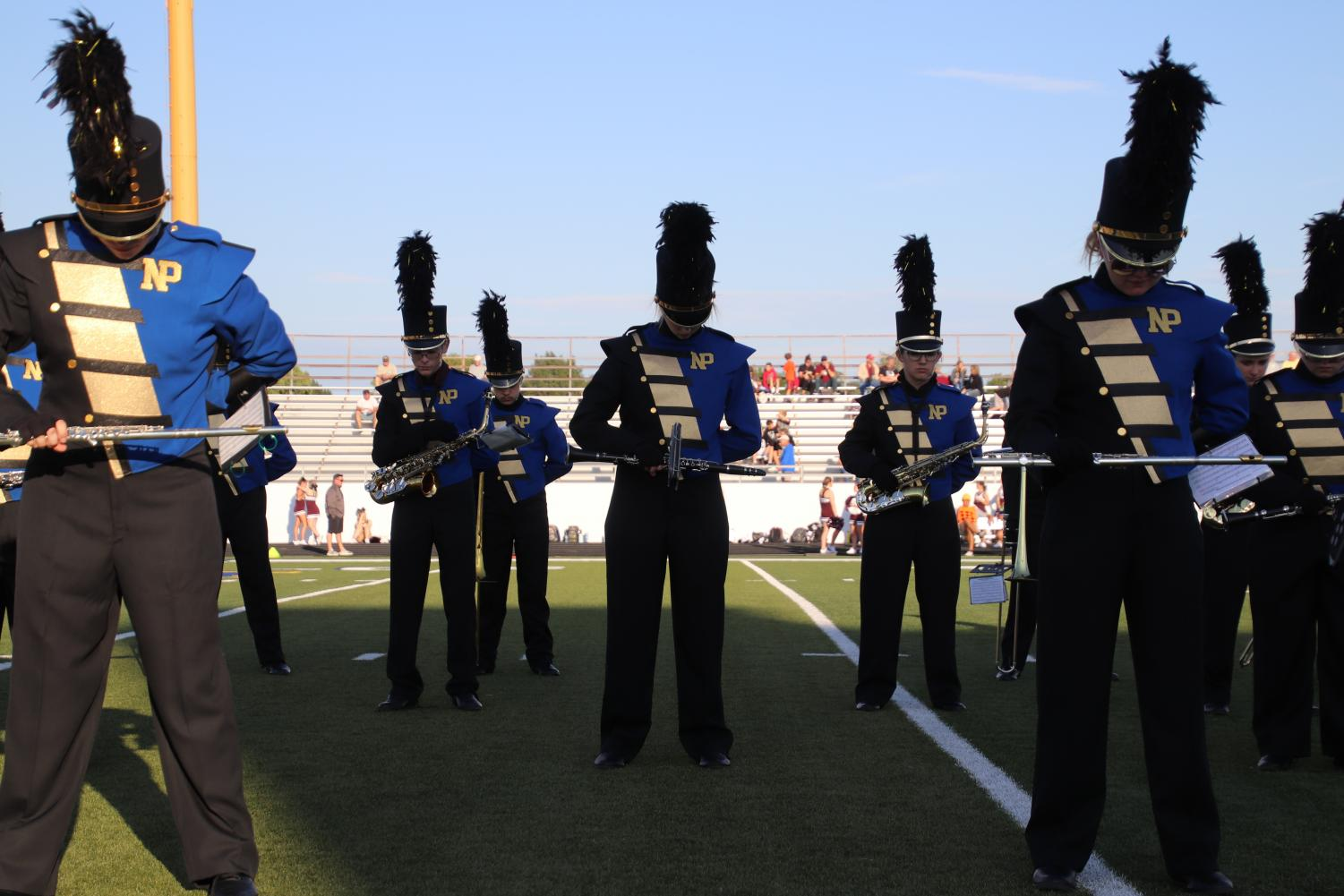 The North Platte High School marching band made history by winning their first superior in Lincoln in NPHS history, Oct. 19, 2019.