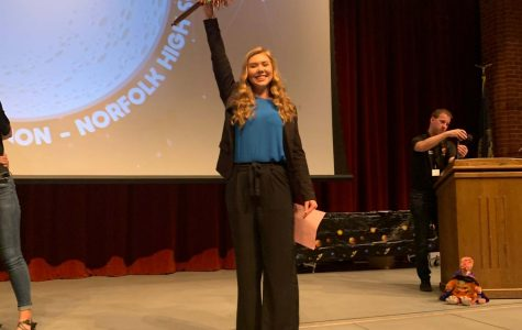 NPHS student is elected State Student Council President