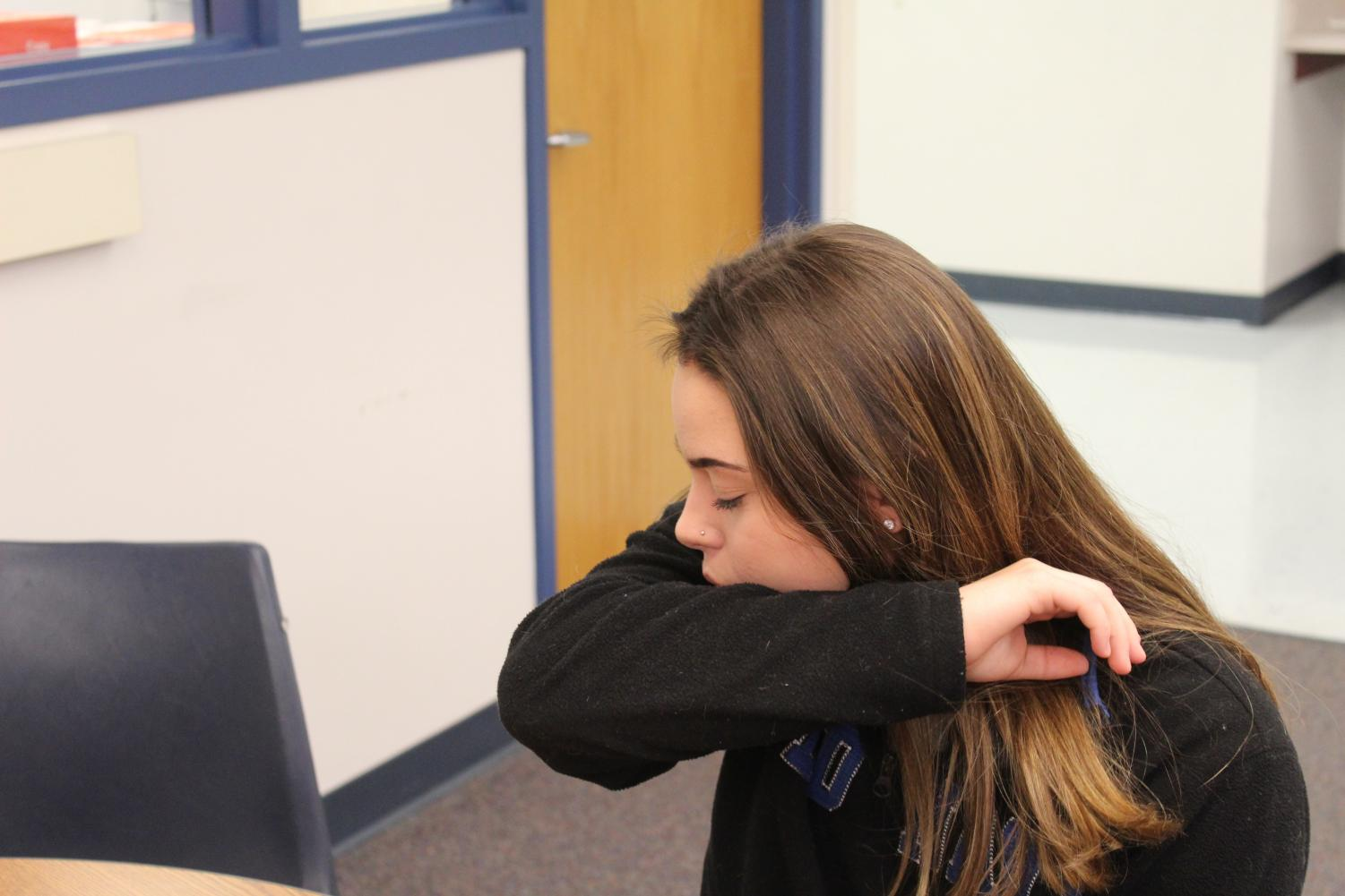 North Platte High school students frequently experience cold like symptoms. Some students were concerned about deciding whether or not their cold-like symptoms could be Pertussis related.