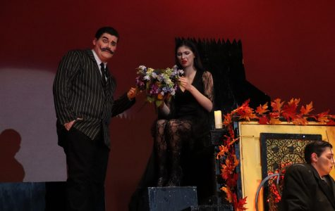 Addams Family one act performed at NPHS