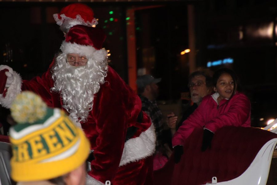 Santa+Claus+during+the+downtown+parade+on+November+12th.
