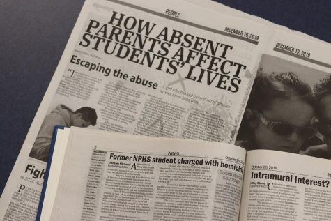 "The two spotlight stories written about Rosalina Castillo Moreno and Brayden Turner. ""How Absent Parents Affect Student"