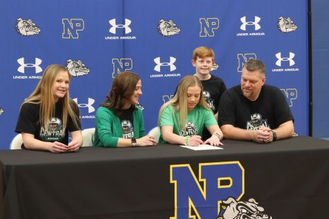 Nine NPHS athletes sign to compete at collegiate level
