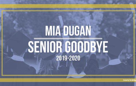 Senior Mia Dugan writes life lessons to her younger self.