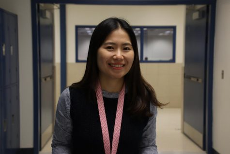 English Language Learning teacher Hanna Kim poses for a picture.